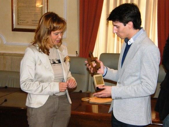 Visita de la Ministra Leire Pajín a Lasarte-Oria.