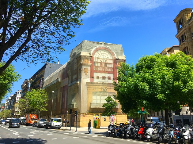edificio del Bellas Artes