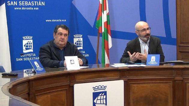 Ernesto Gasco, concejal de Turismo y Manu Narváez, director de SS Turismo